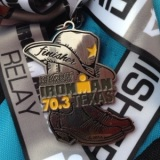 Galveston 70.3 Relay Race Report